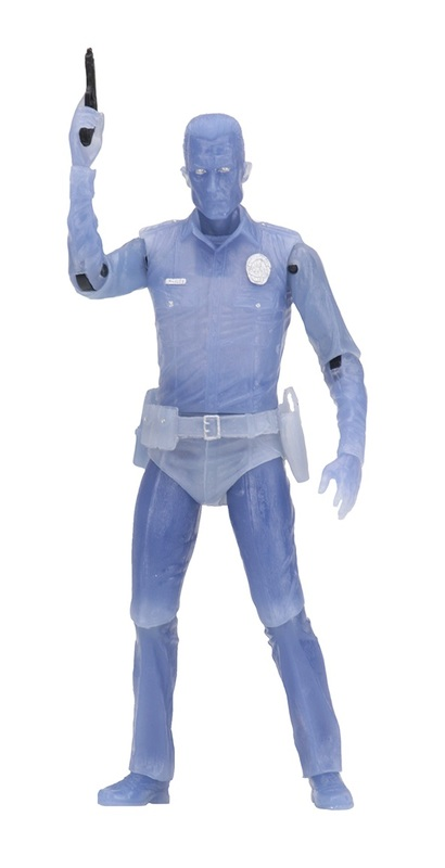 "Terminator: White-Hot T-1000 - 7"" Kenner Tribute Action Figure"