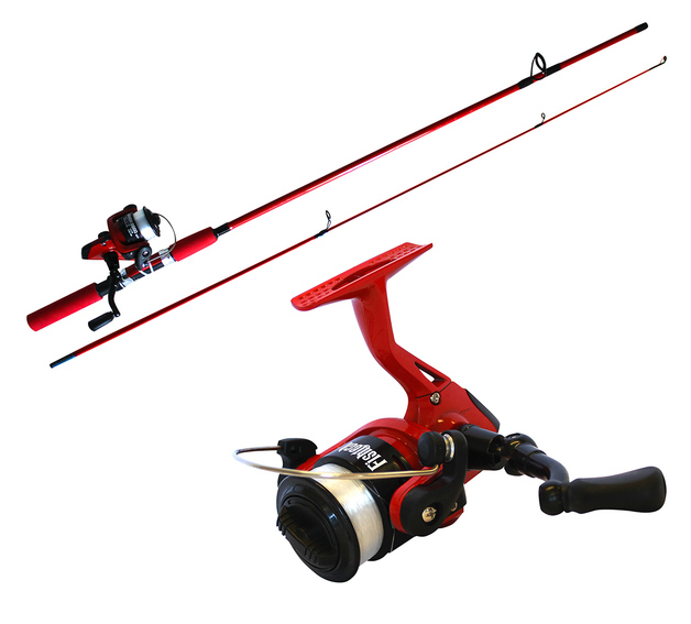 Fishtech Kids Spin Rod/Reel Fishing Combo