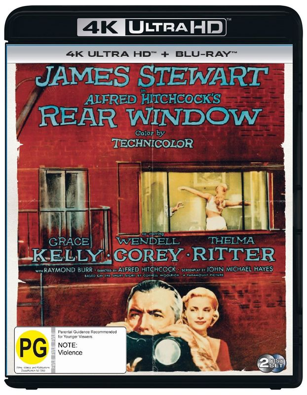 Rear Window (4K UHD + Blu-Ray) on UHD Blu-ray