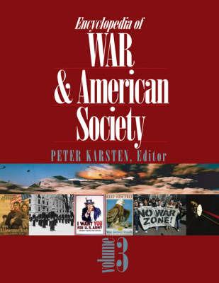 Encyclopedia of War and American Society image