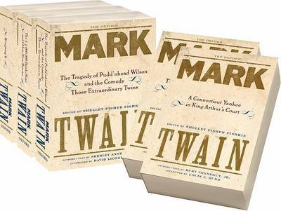 The Oxford Mark Twain: Full Set by Mark Twain ) image