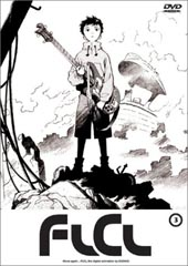 FLCL - Fooly Cooly: Vol. 3 on DVD