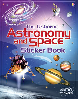 Astronomy and Space Sticker Book by Emily Bone image