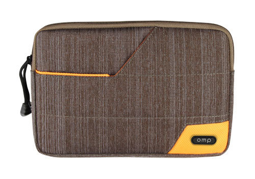Omp Minerva Series Ipad Mini Tablet Sleeve Bag - Brown/Orange