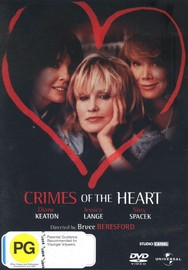 Crimes Of The Heart on DVD image