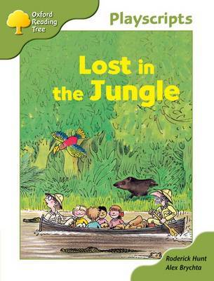 Oxford Reading Tree: Stage 7: Owls Playscripts: Lost in the Jungle by Roderick Hunt image