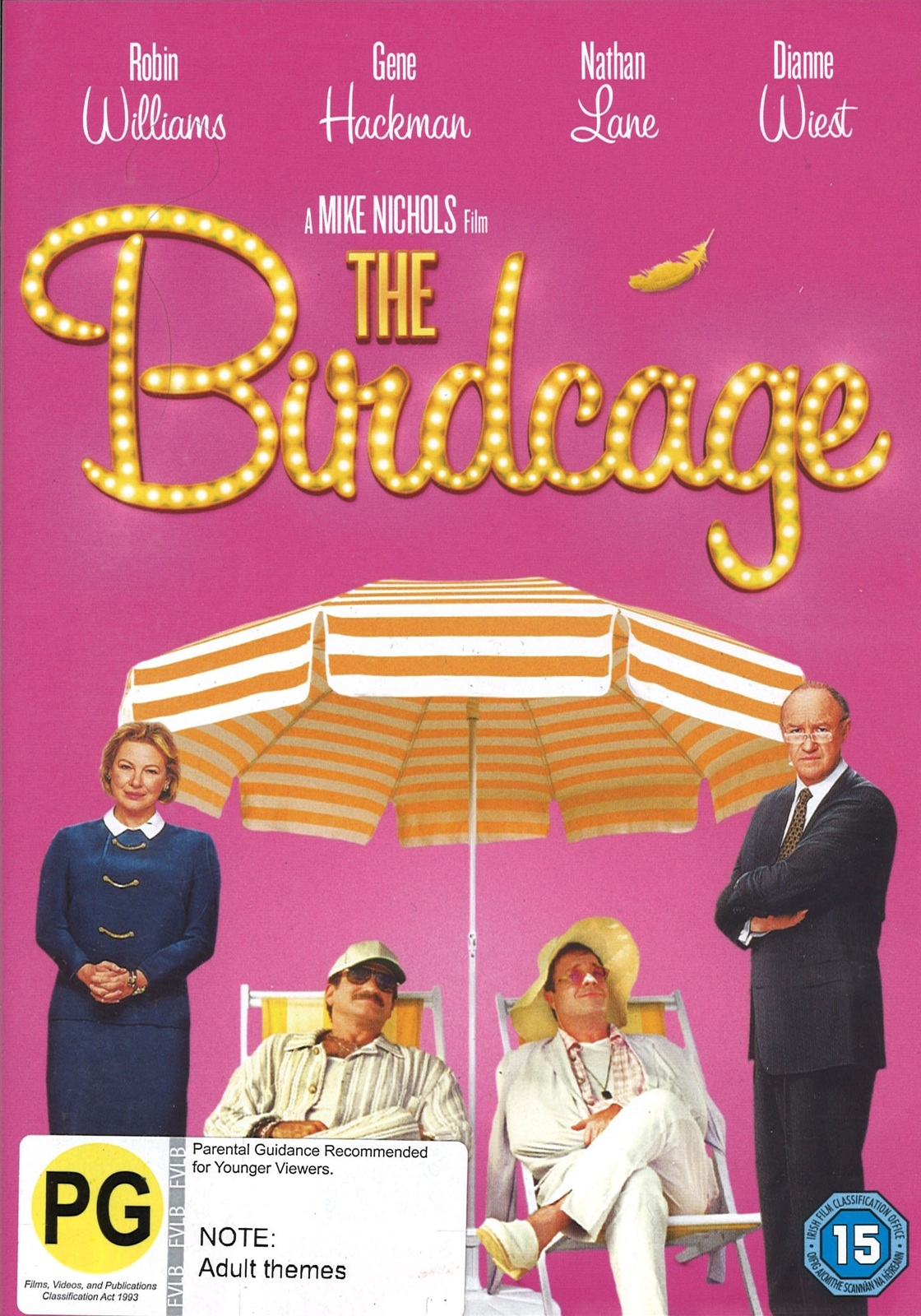 Birdcage on DVD image