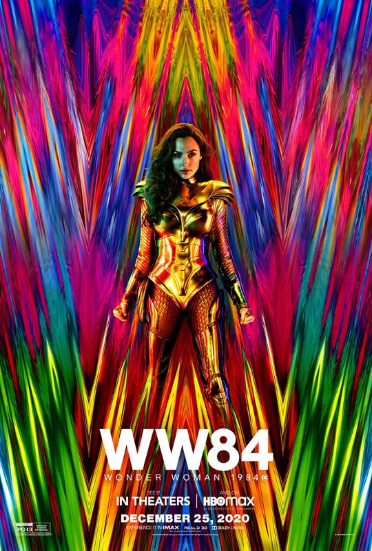 Wonder Woman 1984 on DVD