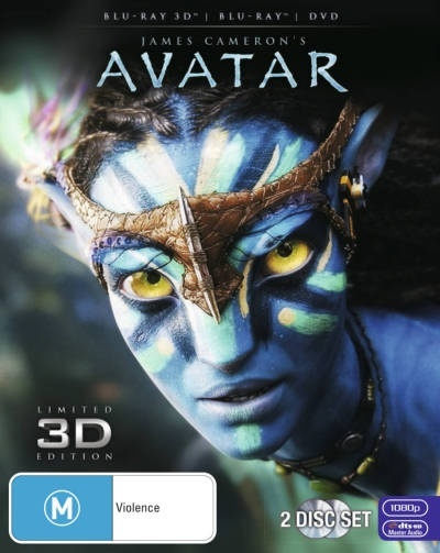 Avatar 3D on Blu-ray, 3D Blu-ray image