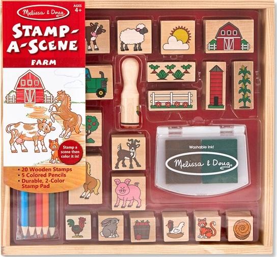Melissa & Doug: Stamp-a-Scene Farm
