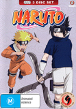 Naruto (Uncut) Collection 09 (Eps 107-120), DVD