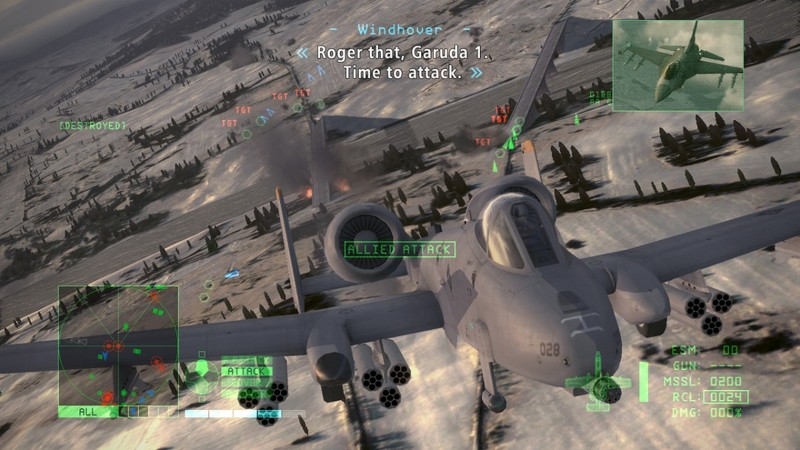 Ace Combat 6: Fires of Liberation (Classics) for Xbox 360 image