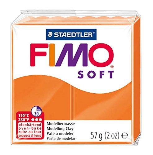 Staedtler Fimo Soft Modelling Clay Block - Tangerine (56g)
