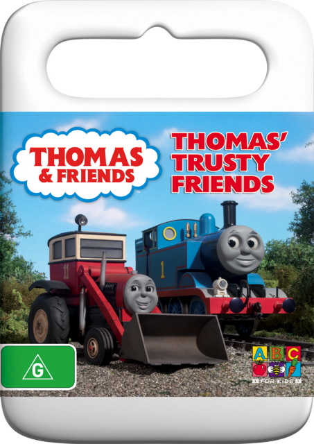 Thomas And Friends - Thomas' Trusty Friends on DVD image