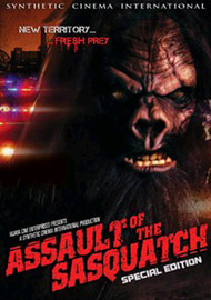 Assault of the Sasquatch on DVD