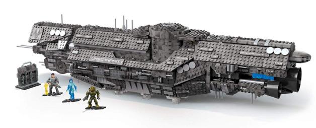 Mega Construx: Halo - UNSC Infinity Playset