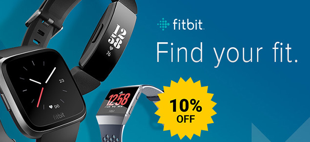 Fitbit SALE - 10% Off!