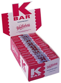 Whittaker's K Bars Bulk Counter Display - Raspberry (24g)