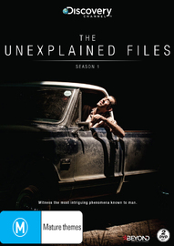 The Unexplained Files Season 1 on DVD