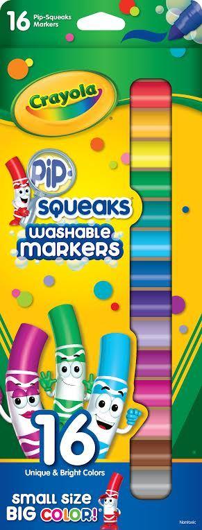 Crayola: 16 Pipsqueaks Washable Markers image