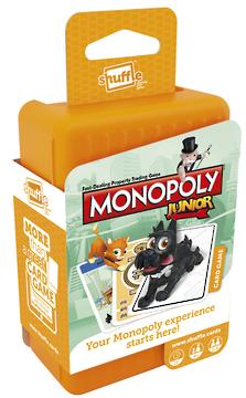 Shuffle Card Games - Monopoly Junior
