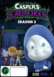 Casper's Scare School: Season 2 - Volume 2 on DVD