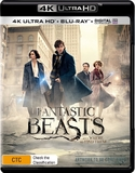 Fantastic Beasts and Where to Find Them (4K UHD + Blu-ray) DVD