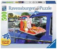 Ravensburger: Drive-Thru Route 66 - 500pc Large Format Puzzle