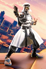S.H.Figuarts Street Fighter: Rashid - Action Figure