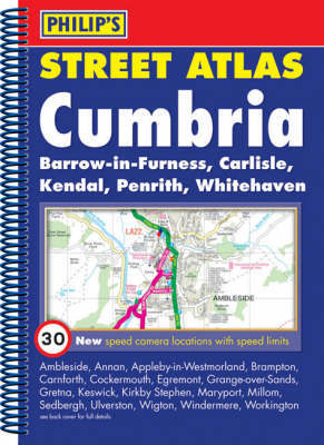 Philip's Street Atlas Cumbria image