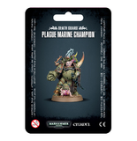 Warhammer 40,000: Death Guard - Plague Marine Champion