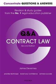 Concentrate Questions and Answers Contract Law by James Devenney