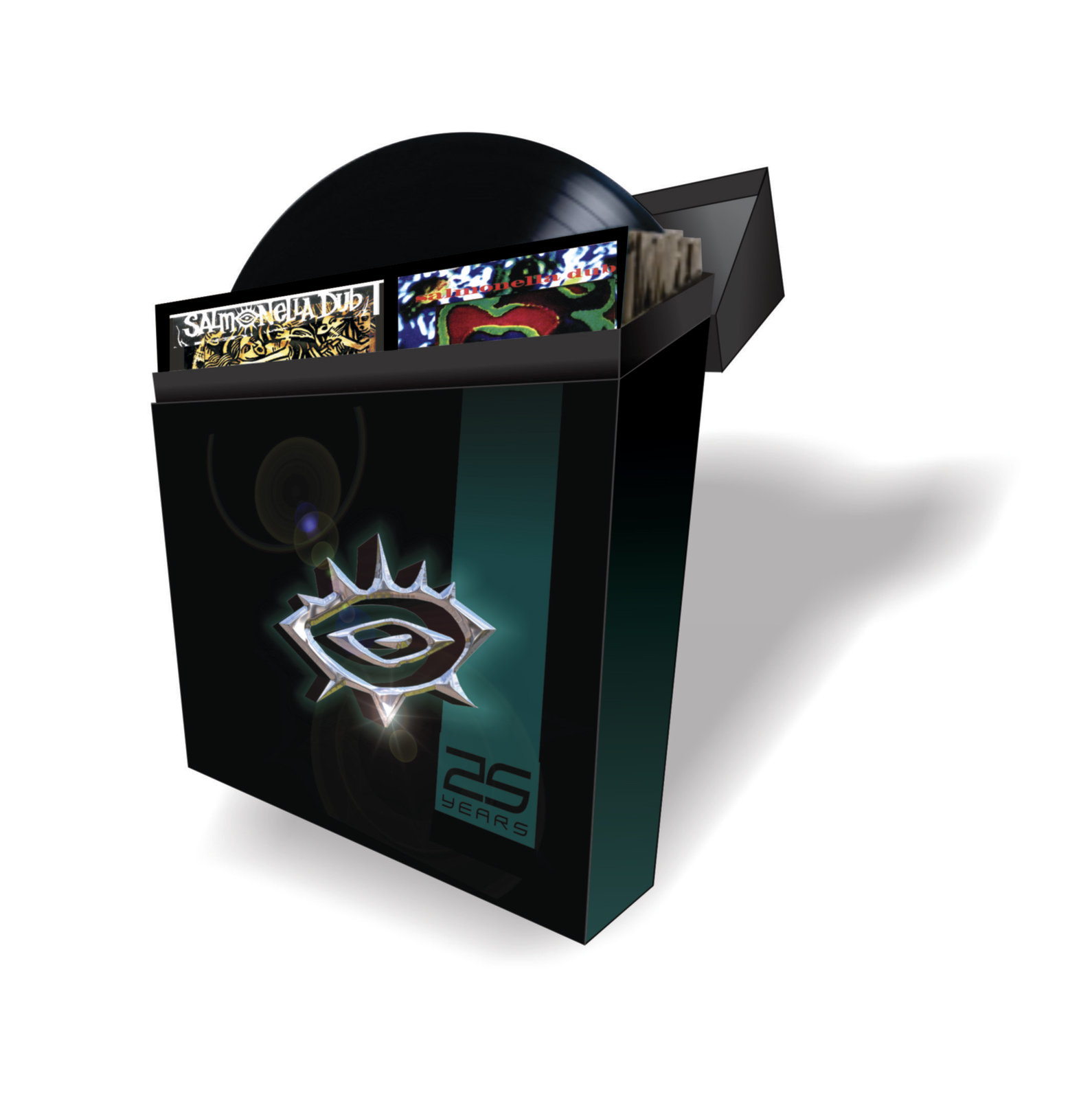 Limited Edition Deluxe Vinyl Box Set by Salmonella Dub image