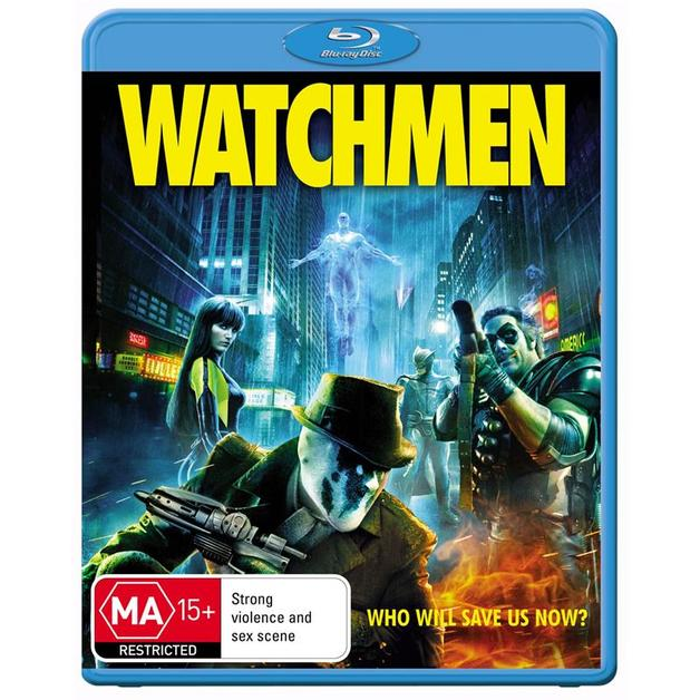Watchmen on Blu-ray