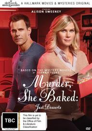 Murder, She Baked: Just Desserts on DVD