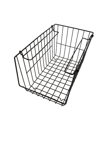 L.T. Williams - Narrow Stacker Basket (Black)
