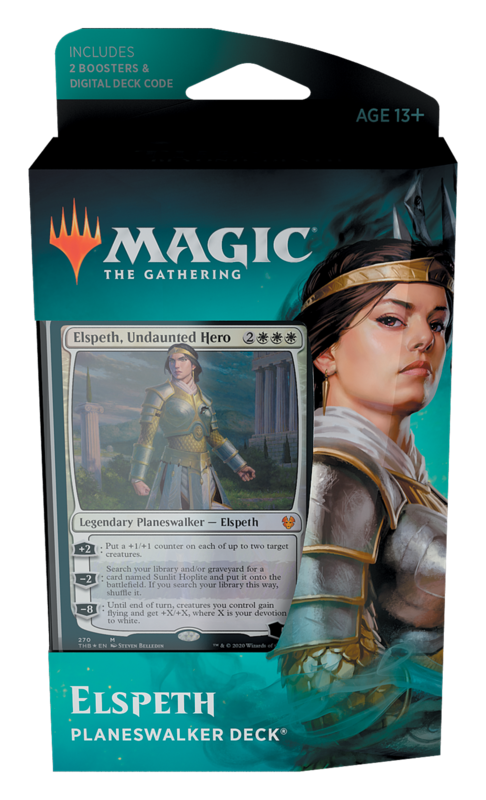 Magic The Gathering: Theros Beyond Death Planeswalker Deck- Elspeth