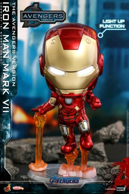 Avengers: Endgame - Iron Man (Mark VII) - Cosbaby Figure