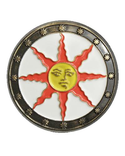 Dark Souls: Sunlight Shield - Enamel Pin