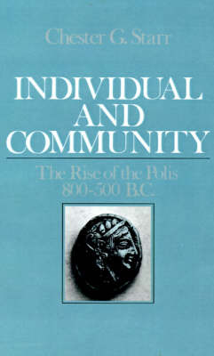 Individual and Community by Chester G. Starr image