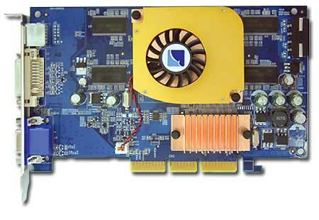 Albatron Video Card 6600Q 256MB DDR image