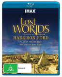 IMAX: Lost Worlds on Blu-ray