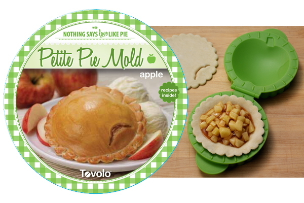 Petite Pie Mould - Apple