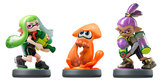 Nintendo Amiibo Triple Pack (Different Colours) - Splatoon Figure for Nintendo Wii U