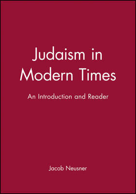 Judaism in Modern Times by Jacob Neusner image