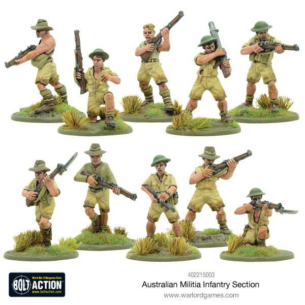 Australian Militia Infantry Section (Pacific) image