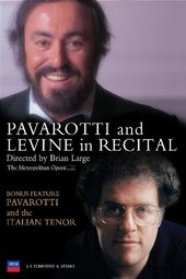Pavarotti and Levine in Recital on DVD