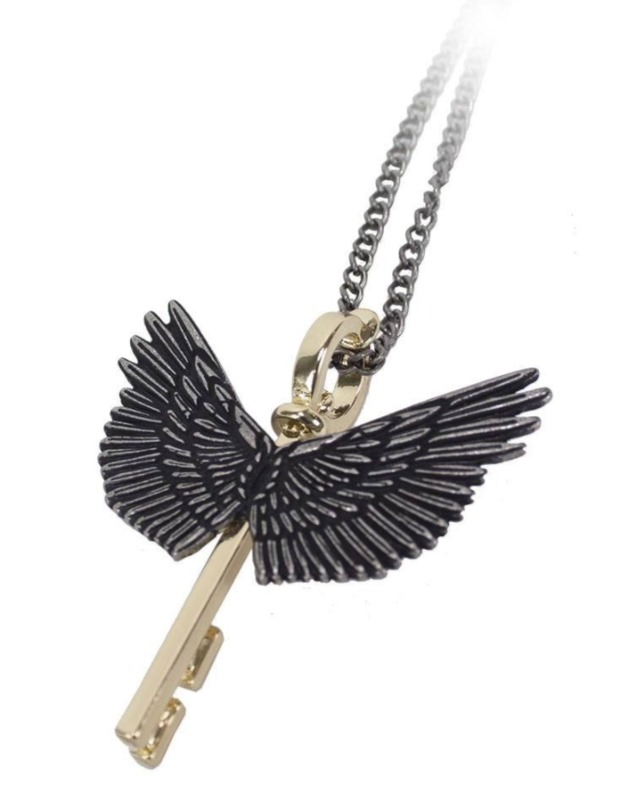 Harry Potter - Flying Key Necklace