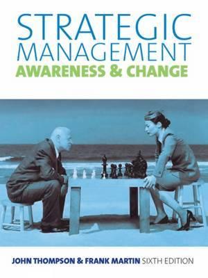 Strategic Management by Martin Thompson
