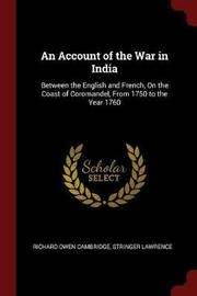 An Account of the War in India by Richard Owen Cambridge image
